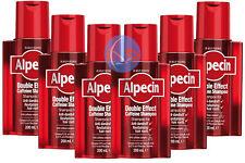 ALPECIN DOUBLE EFFECT SHAMPOO 200ML.  1, 2, 3 & 6 Packs Available.