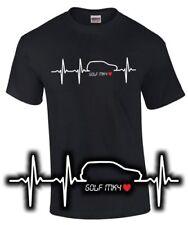 Golf MK 4 T-Shirt HERZSCHLAG Schrauber Tuning Gti 4 vw Treffen Spruch Fun