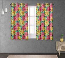 S4sassy Leaves & Living Room Eyelet Curtain Drapers-FL-683D