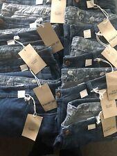 Plus Size Ladies Blue Denim Straight Leg Jeans 16 18 20 22 24 26 28 30 32