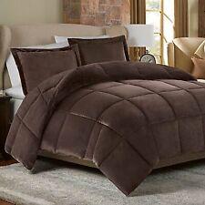 Down alternative comforter Chocolate