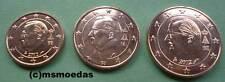 Belgien 1+2+5 Euro Cent Münzen Euromünzen coins moedas Auswahl Jahre