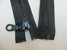 Gründl 1 Reißverschluss Jacken 6 mm Plastikzahn 75 cm teilbar 100 /% Polyester