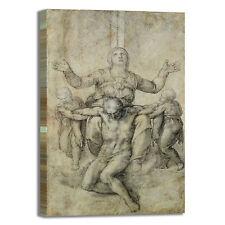 Michelangelo pietà Vittoria Colonna quadro stampa tela dipinto telaio arredo