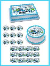 Christmas 6 Edible Birthday Cake Topper OR Cupcake Topper, Decor