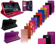 For Vodafone Smart Ultra 7 VDF 700 New Leather Black Genuine Wallet Phone Case
