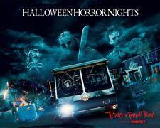Halloween Horror Nights - Freddy Krueger, Jason Voorhees, Leatherface, Chucky