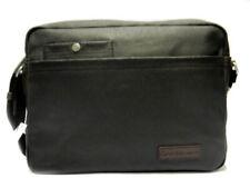 Calvin Klein chb004 nero borsa tracolla uomo porta computer doppie tasche bolset