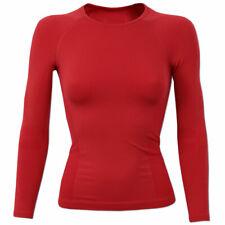 Odlo Kids Sports Underwear Kinder Sportunterhemd Winter Warm Mädchen rot