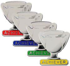 Achiever Trophy School Award Silver Badge