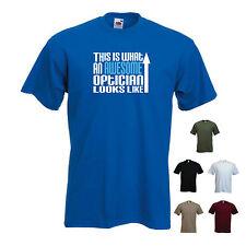"""""""esto es lo que un impresionante óptico se ve como 'Camiseta Graciosa Camiseta"""
