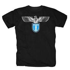 Lazio Irriducibili Curva Nord Ultras 87 IRR Adler Rom Italien T-Shirt S-3XL