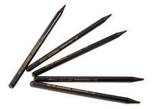 5 x Progresso Woodless Graphite Sticks - HB, 2B, 4B, 6B, 8B pencil grades