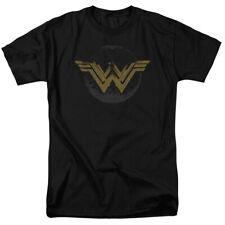 Wonder Woman Movie - Wonder Woman Distessed ogo Adult T Shirt