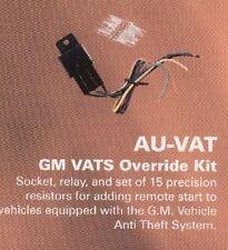 Omega AU-VAT GM VATS resistor based anti theft bypass