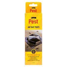 3x FORMICA Trappole Esche VASSOI le pulci insetti Catcher onisco insetti Bug Pest Vassoio Nuovo