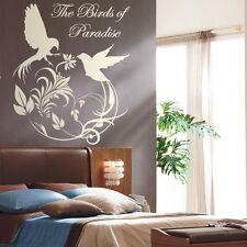Vinyl Wall LARGE Bird of Paradise Wall-Window Vinyl Bedroom Sticker Decal