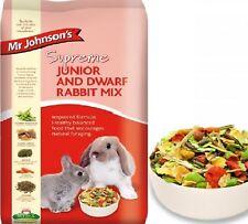 SUPREME JUNIOR & DWARF RABBIT - (900g - 15kg) - Mr Johnson Baby Bunny vf Food bp