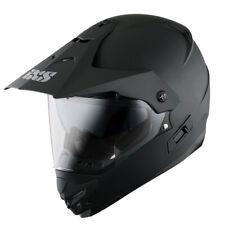 IXS HX 207 Endurohelm aus Polycarbonat - matt schwarz