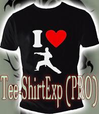 Camiseta I LOVE TAEKWONDO -CAMISETA CAMISA - Deporte Karate MMA UFC - S la XXL