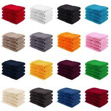 4er PACK EllaTex Gästetücher Handtücher Duschtücher Badetücher 100% Baumwolle