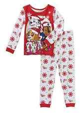 Paw Patrol Christmas Holiday Baby Toddler Pajamas Sleepwear Various Sizes NWT