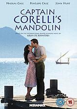 CAPTAIN CORELLI'S MANDOLIN . NICOLAS CAGE , PENELOPE CRUZ , JOHN HURT . SEALED