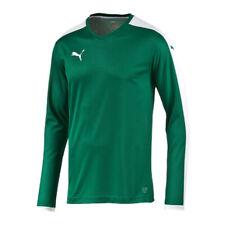 Puma Pitch à Manches Longues T-Shirt Maillot Enfants Vert F05