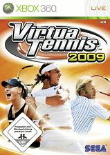 Virtua tennis 2009 (xbox 360) article neuf new