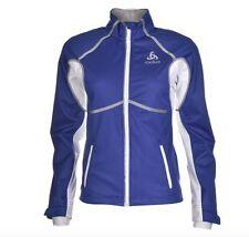 Odlo Frequence Damen Outdoor Jacke Blau Weiß alle Größen Neu mit Etikett