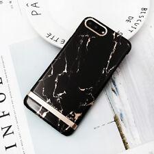 Plating Granite Glitter Shockproof Marble Hard Back Case Cover For Apple iPhone