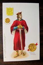 KING STEPHEN England Royalty Tuck Chromo. Postcard 1905