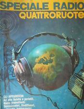 Speciale Radio Quattroruote 1975:radio trasmittenti,filodiffusori,autoradio