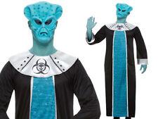 Alien Awakening Mens Halloween Aliens Fancy Dress Costume + Mask New