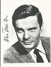 Louis Jourdan signed photo