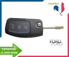 Coque Télécommande Clé Plip Bouton FORD Mondeo Fiesta Escort Cougar Ka + Cle