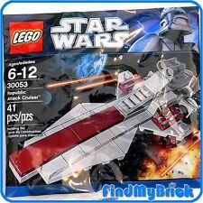 LEGO 30053 Star Wars Republic Attack Cruiser - Polybag Set - Sealed Brand NEW