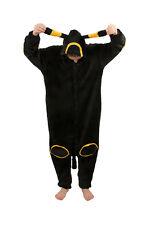 Animal Umbreon Onesie Kigurumi Fancy Dress Costume Hoody Pajamas Sleep wear