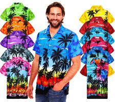 Funky Hawaiihemd Beach Hawaiian Shirt Multi Kurzarm Front-Tasche