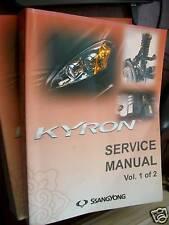 Ssangyong KYRON 2005 : SERVICE MANUAL