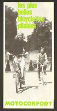 """PANTIN (93) CONCESSIONNAIRE MOTO & BICYCLETTE PLIABLE """"MOTOCONFORT"""""""