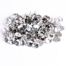 Crystal Nails Tacks Studs 20mm Dia Buttons Sofa Wall Upholstery Decor 20pcs