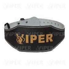 """Per il sollevamento pesi 6"""" Supporto Posteriore Cintura in Pelle Cinturino Da Palestra Fitness Allenamento Potere"""