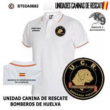 POLOS UNIDADES CANINAS DE RESCATE: UNIDAD CANINA DE RESCATE - BOMBEROS DE HUELVA