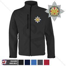 Royal Dragoon Guards - Softshell Jacket - Personalised text available