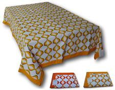 Manteles Mesa cubierta bordado, Rectangular - 140 x 240. RIVIERA HOGAR, SEVENTY
