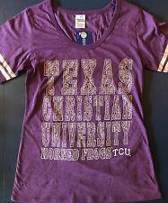 Texas Christian University  Horned Frogs TCU Shirt ladies Creative Apparel