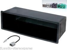 Volvo Car Radio estéreo S40 V40 Single DIN Facia Kit de Adaptador De Antena convertidor ISO