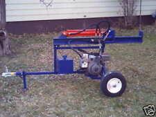 Plans for a Hydraulic Log Splitter, Trailer Type log splitter plans