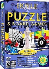 Hoyle Puzzle & Board Games 2009 [Old Version], Very Good Windows XP, Windows Vis